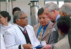 Dr. Gulati and Prince Charles